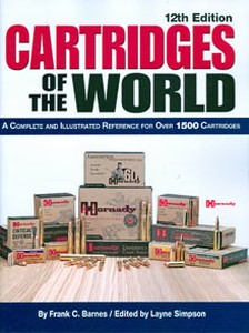 CARTRIDGES OF THE WORLD (12TH EDITION) - Auteur: Barnes C.