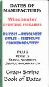 DATES OF MANUFACTURE - WINCHESTER SPORTING FIREARMS - Auteur