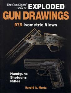EXPLODED GUN DRAWINGS - Auteur: Murtz H.