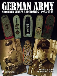 GERMAN ARMY SHOULDER BOARDS AND STRAPS 1933 - 1945