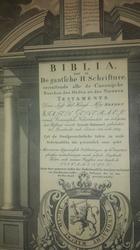Statenbijbel Serooskerke 1619